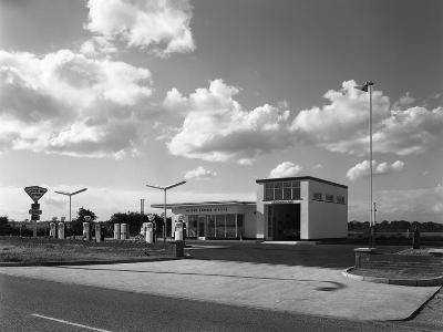 Cleveland Petrol Station, Marr, South Yorkshire, 1963-Michael Walters-Photographic Print
