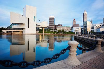 Cleveland Seen Morning Time-benkrut-Photographic Print