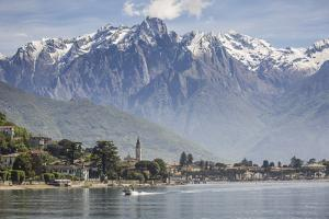 Italy, Lombardy, Lake Como, Northern Branch of Lake Como and the Town of Gravedona by ClickAlps
