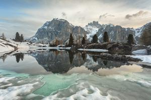 Lake Limedes in Late Spring, Dolomites, Belluno by ClickAlps