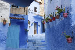 North Africa, Morocco, Chefchaouen District.Details of the City by ClickAlps