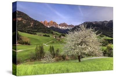 St. Magdalena and the Odle Group. Funes Valley South Tyrol Dolomites Italy Europe