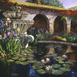 Fountain at San Miguel II by Clif Hadfield