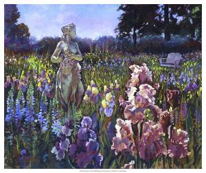 Garden Wait by Clif Hadfield