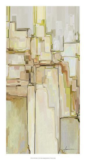 Cliff Dwellers II-James Burghardt-Giclee Print