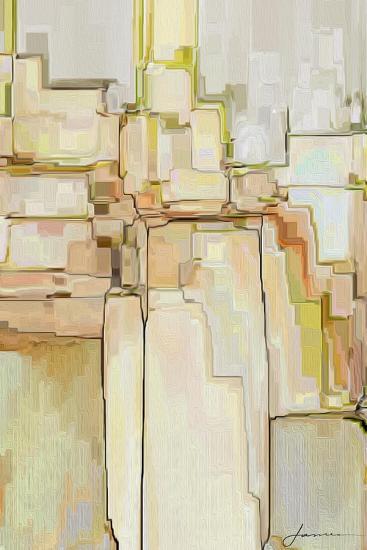 Cliff Dwellers II-James Burghardt-Art Print