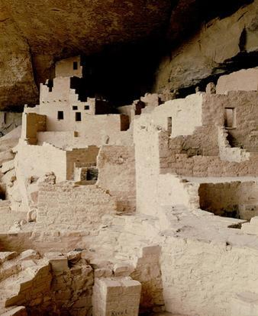 Cliff Dwelling at Mesa Verde