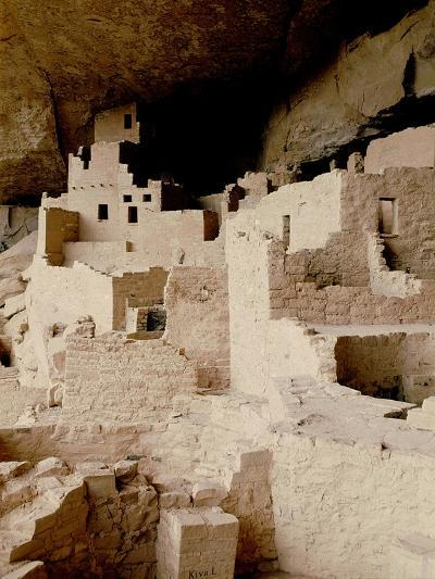 Cliff Dwelling at Mesa Verde--Giclee Print
