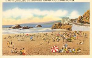 Cliff House Beach, Seal Rocks, San Francisco, California