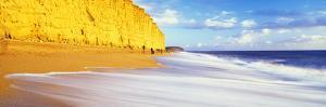 Cliff on the Beach, Burton Bradstock, Dorset, England