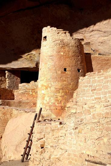 Cliff Palace Detail II-Douglas Taylor-Photographic Print