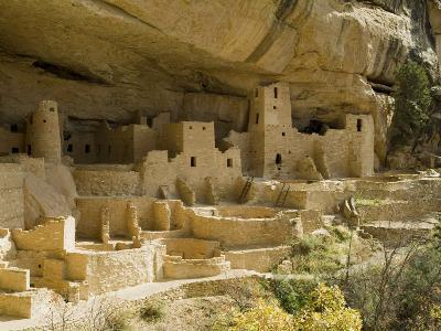 Cliff Palace, Mesa Verde National Park, Unesco World Heritage Site, Colorado, USA-Ethel Davies-Photographic Print