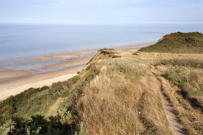 Cliff Path from Cromer to Overstran, Norfolk, England, United Kingdom, Europe-Mark Sunderland-Photographic Print