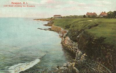 Cliff Walk, Breakers, Newport, Rhode Island
