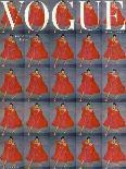 Vogue - September 1947 - Capri-Clifford Coffin-Stretched Canvas
