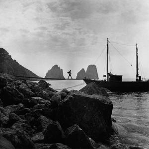 Vogue - September 1947 - Capri by Clifford Coffin