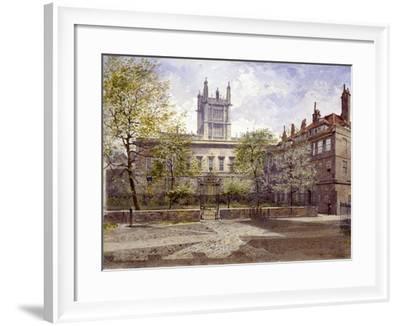 Clifford's Inn, London, 1880-John Crowther-Framed Giclee Print