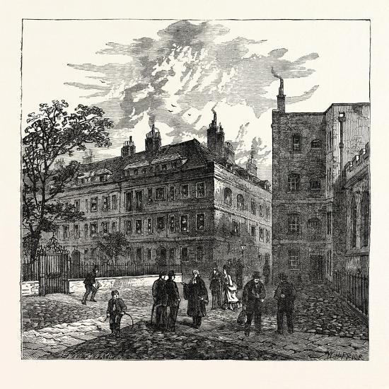 Clifford's Inn London--Giclee Print