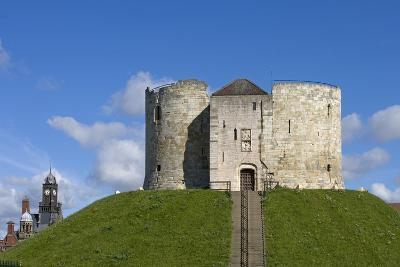 Clifford's Tower, Built by Henry III Between 1250-1275, York, North Yorkshire, United Kingdom--Photographic Print
