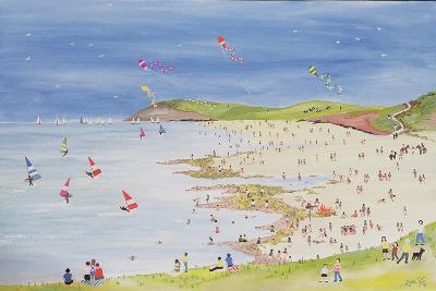 Cliffs and Bay-Judy Joel-Giclee Print