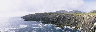 Cliffs at the Coast, County Kerry, Munster, Republic of Ireland--Photographic Print