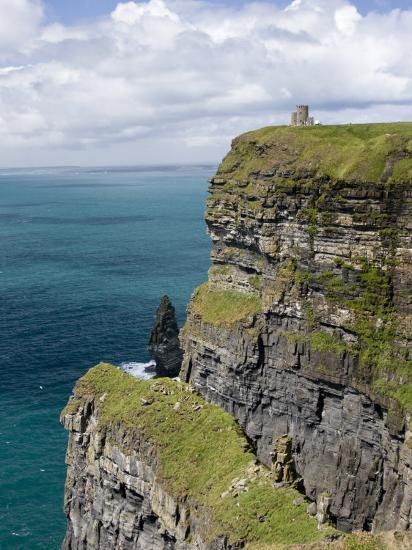 Cliffs, County Clare, Ireland-William Sutton-Photographic Print