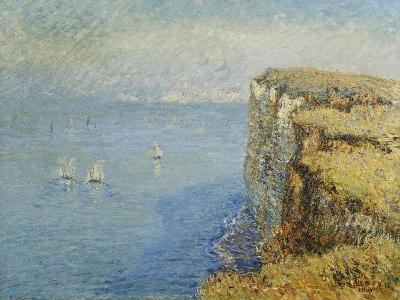 Cliffs in Normandy-Gustave		 Loiseau-Giclee Print