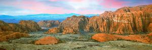 Cliffs in Snow Canyon State Park, Washington County, Utah, Usa
