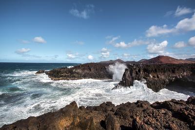 Cliffs, Los Hervideros, Lanzarote, Canary Islands, Spain-Sabine Lubenow-Photographic Print