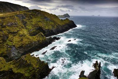 Cliffs Near Portmagee in County Kerry, Ireland-Chris Hill-Photographic Print