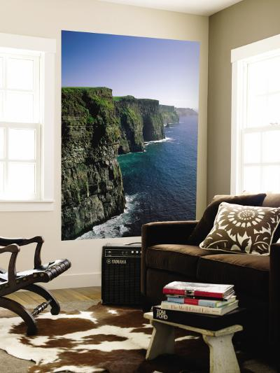 Cliffs of Moher, County Clare, Ireland-Steve Vidler-Wall Mural