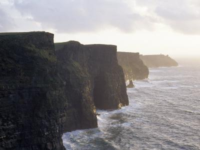 Cliffs of Moher Overlooking the Atlantic-xPacifica-Photographic Print