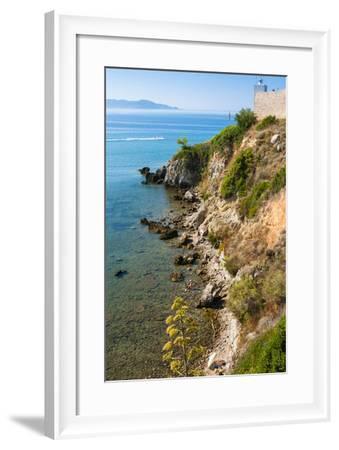 Cliffs of Talamone, Talamone, Grosseto Province, Maremma, Tuscany, Italy-Nico Tondini-Framed Photographic Print