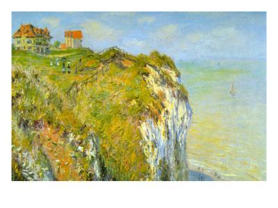 Cliffs-Claude Monet-Art Print