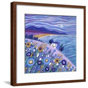 Clifftop Cottage, 2013-David Newton-Framed Giclee Print