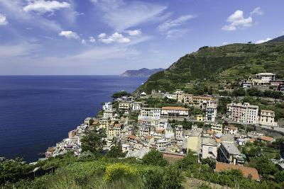 Clifftop Village of Riomaggiore, Cinque Terre, UNESCO World Heritage Site, Liguria, Italy, Europe-Gavin Hellier-Photographic Print