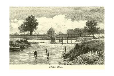 Clifton Weir--Giclee Print