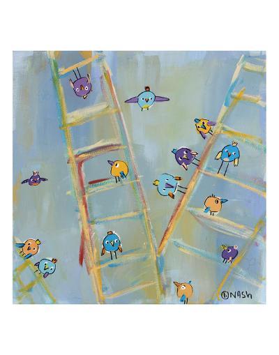 Climb or Fly-Brian Nash-Art Print