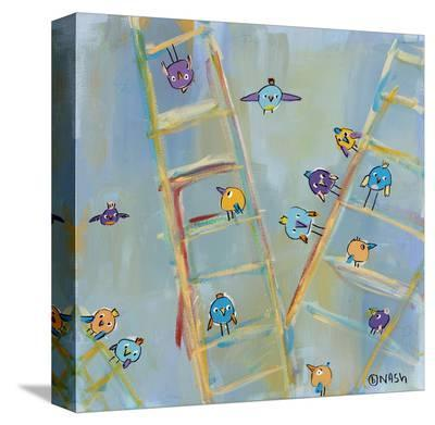 Climb or Fly-Brian Nash-Stretched Canvas Print