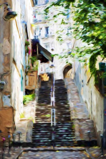 Climb the Stairs - In the Style of Oil Painting-Philippe Hugonnard-Giclee Print