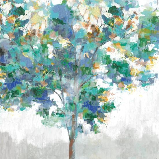 Climbing Blue-Eva Watts-Art Print