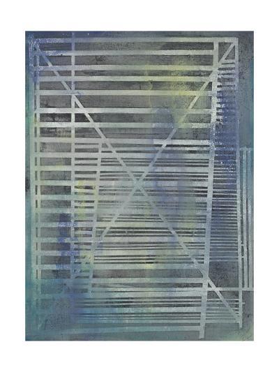 Climbing Ladders-Joshua Schicker-Giclee Print