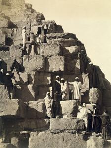 Climbing the Pyramids, 1878