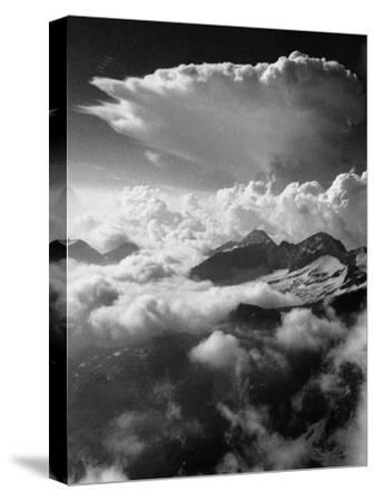 Climbing up Breithorn, Peak of the Monte Rosa Range