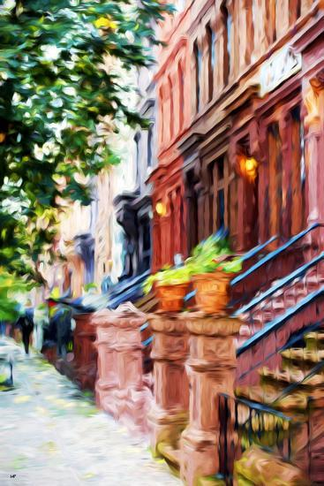 Climbs Stairs - In the Style of Oil Painting-Philippe Hugonnard-Giclee Print