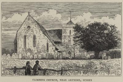 Climping Church, Near Arundel, Sussex-William Henry James Boot-Giclee Print
