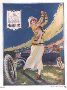 Clincher, Golf Tyres, uk, 1919