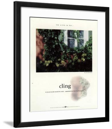 Cling-Francis Pelletier-Framed Art Print