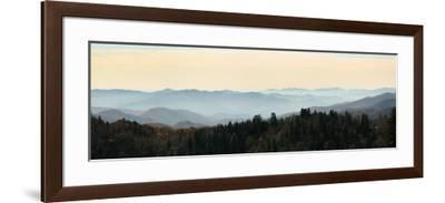 Clingmans Dome panorama, Smoky Mountains National Park, Tennessee, USA-Anna Miller-Framed Photographic Print
