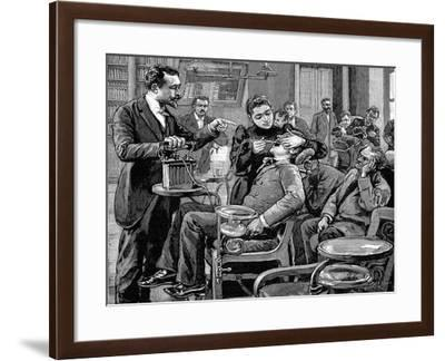 Clinic at the School of Dentistry, Paris, 1892--Framed Giclee Print